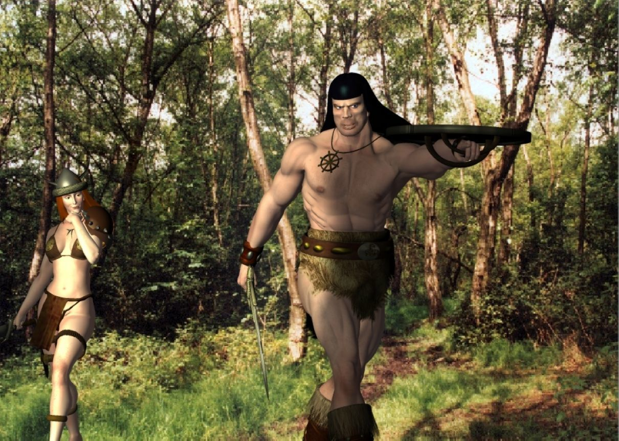CONAN THE CIMMARIAN : Survaying the Area!