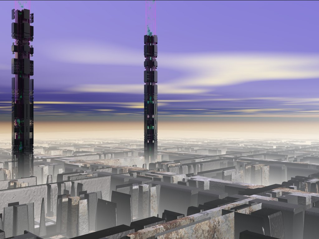 Black Towers by Encrypted