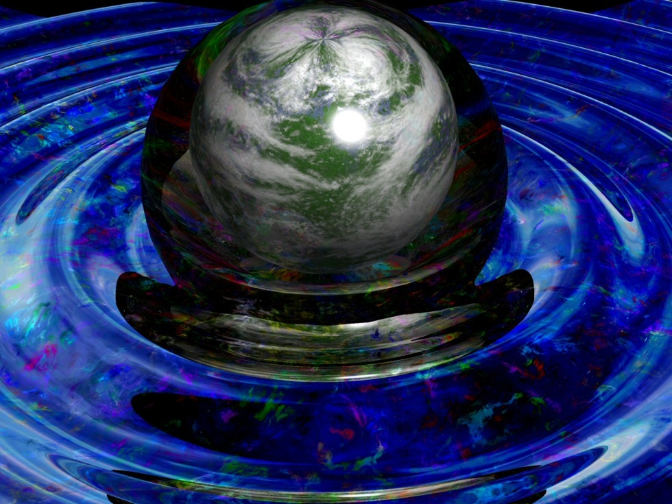 A droplet of Earth by DarkFlame
