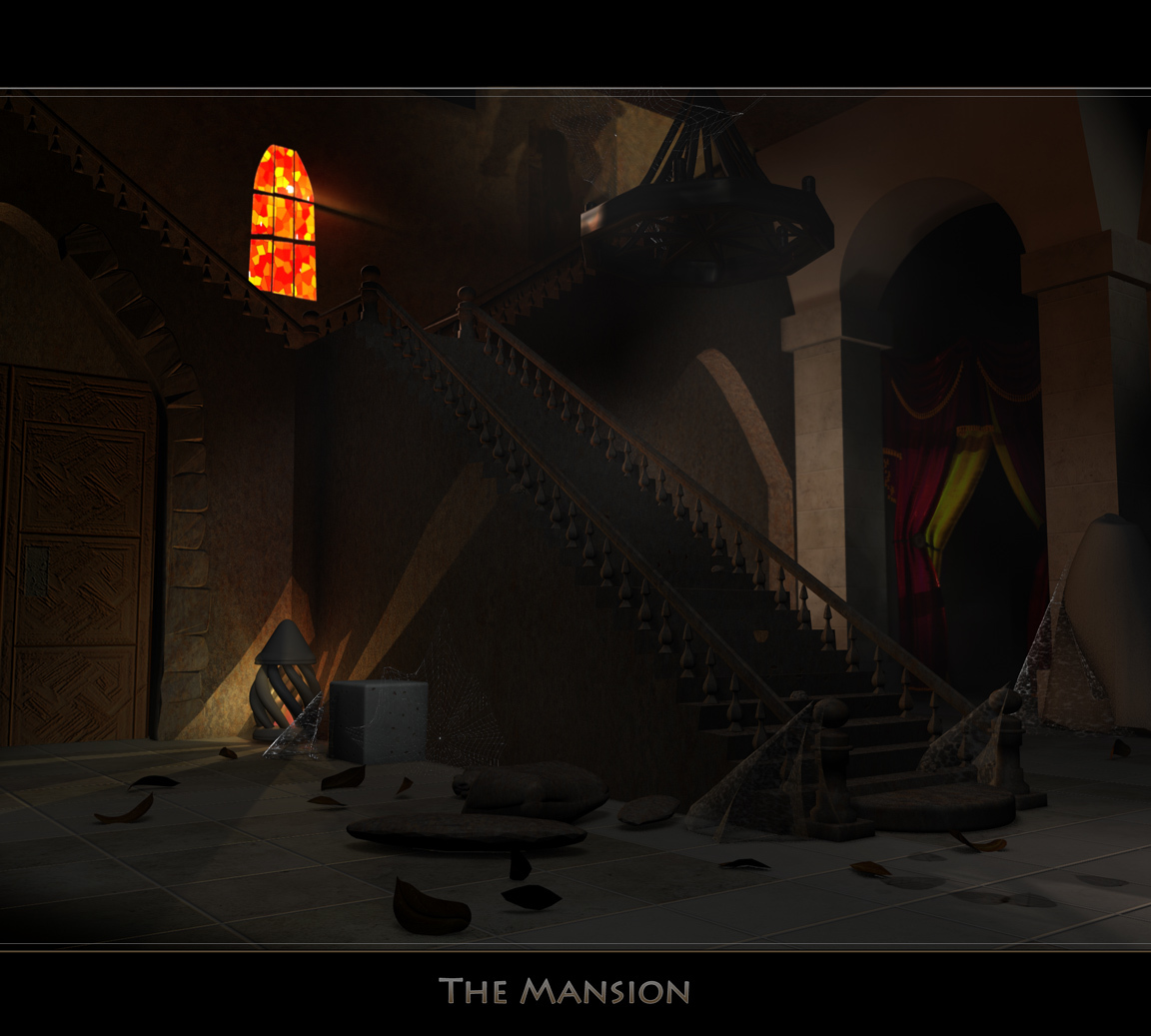 the Mansion by ronjonk
