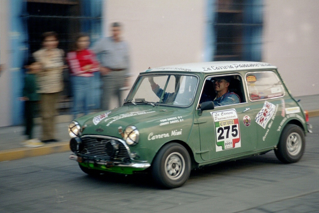 La Carrera Panamericana - Mini Cooper in Oaxaca by zarth