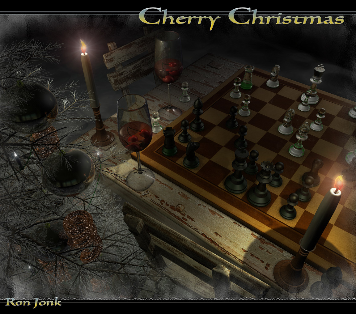 Cherry Christmas by ronjonk