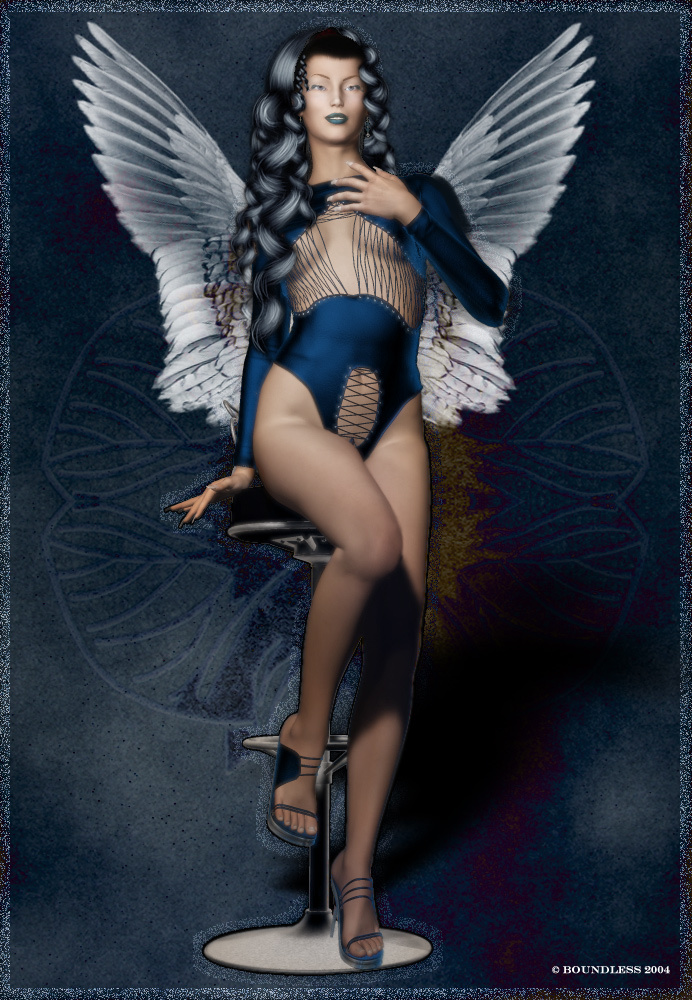 *~*BLUE ANGEL*~* by boundless