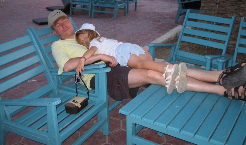Nap with Dad