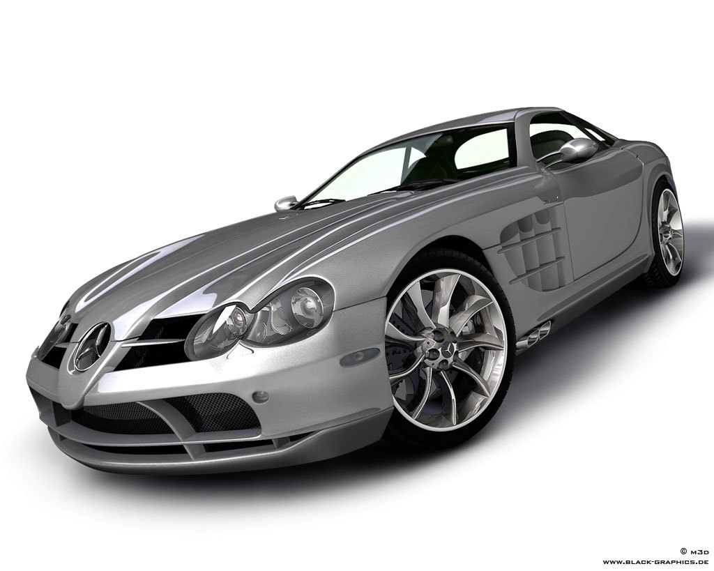 SLR McLaren [reworked] by m3d
