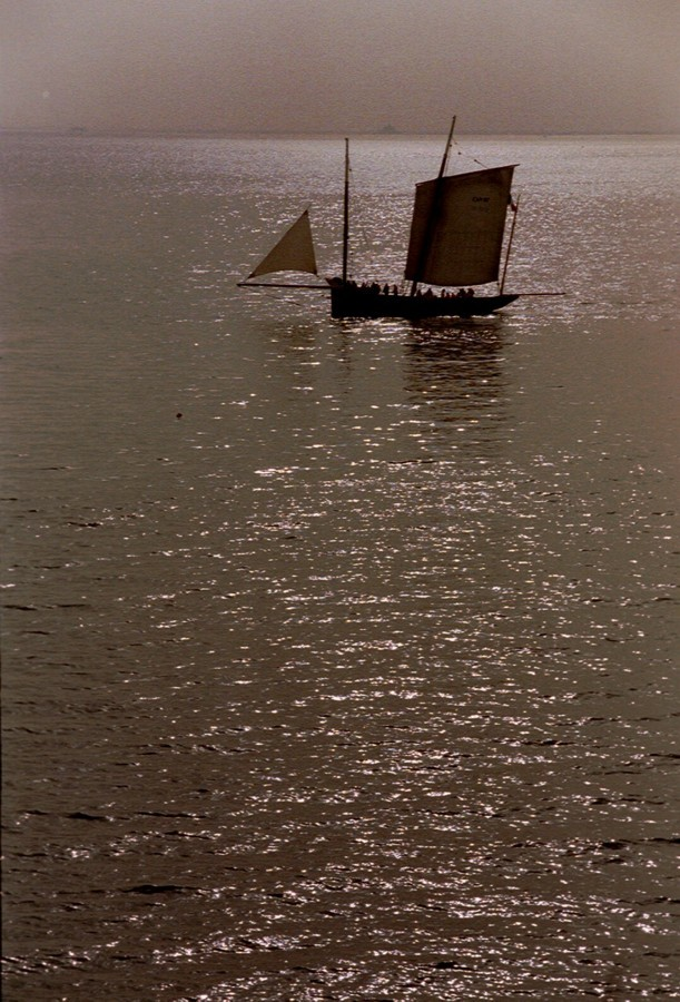 Under square sail off Cancale by GiMi53