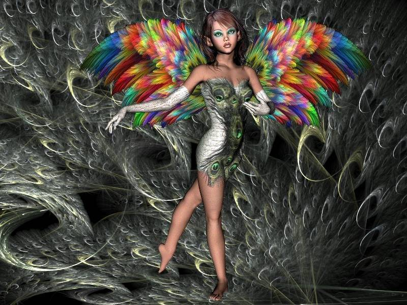 Feather Princess. by thelma