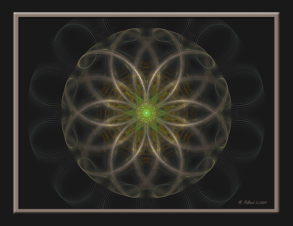 Mandala 1: It Sees All by emay68