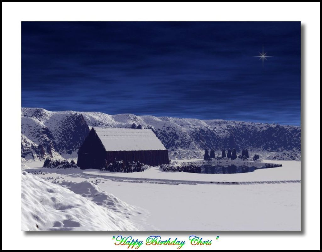 Dream Cabin-Birthday Wishes to My Husband by Snow_Angel