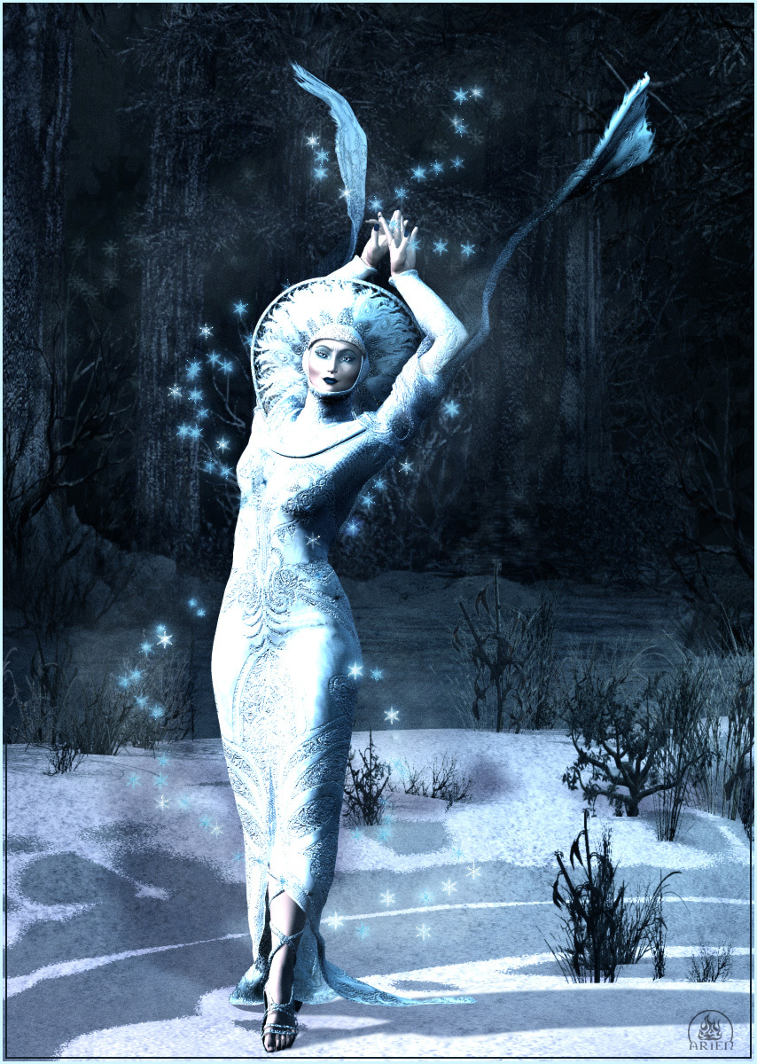 Winter Queen - For SkyeWolf and Levanah