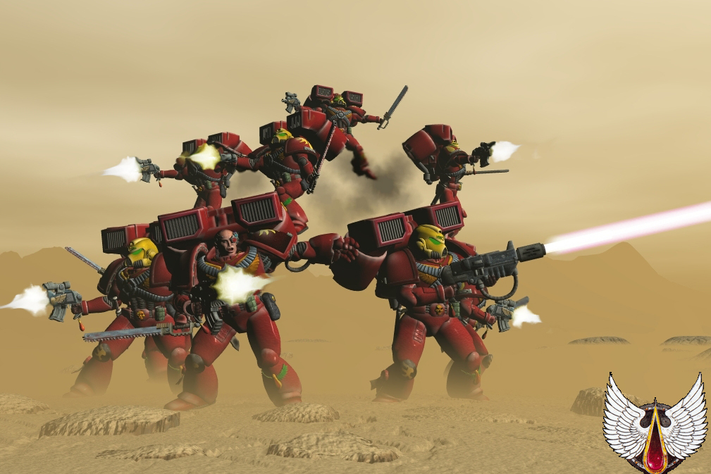 Blood angels by palius