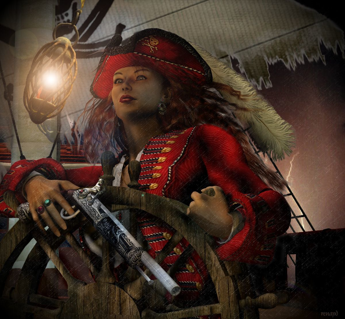 Captain Anne-Rouge Series: #2 Night Sail