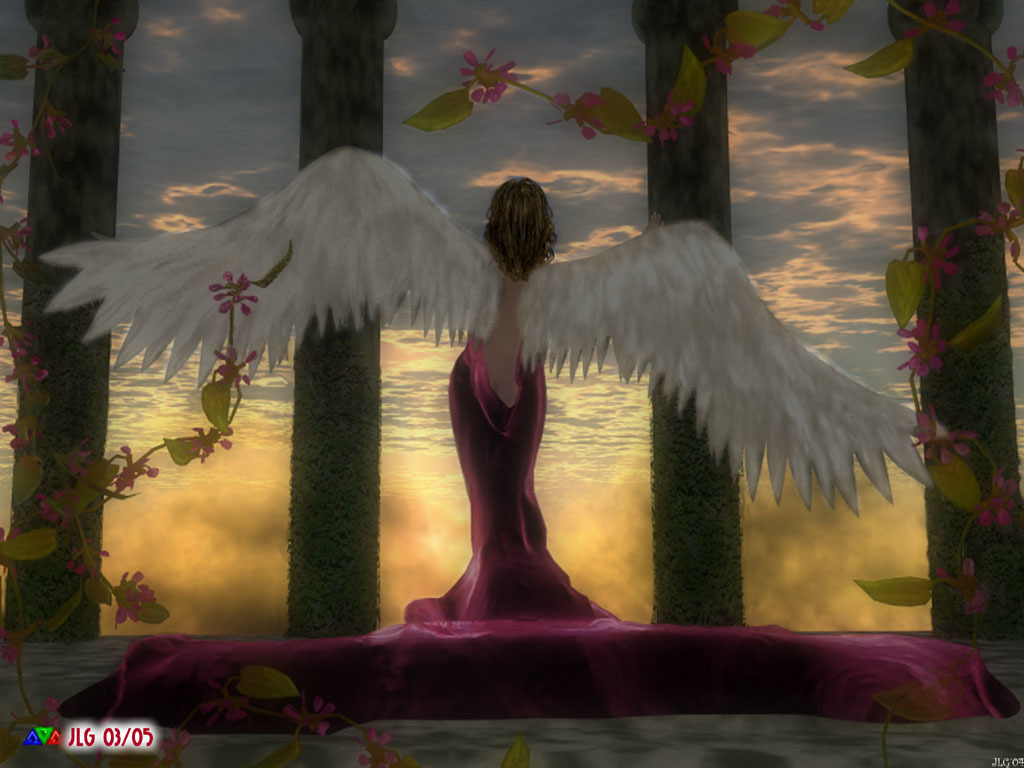**Spring_Angel** by jlgarcia0