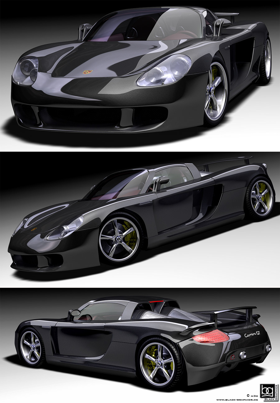 Porsche Carrera GT by m3d