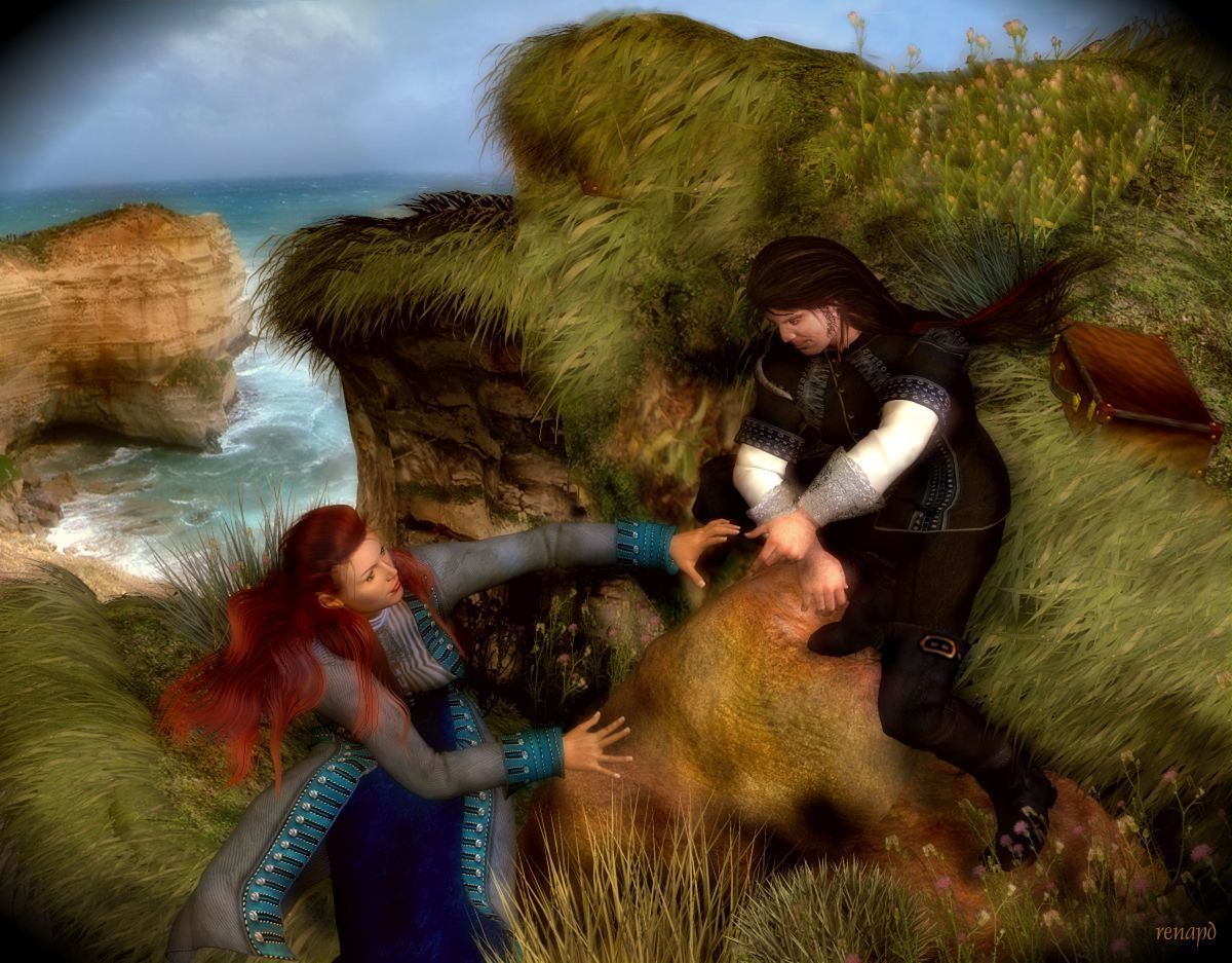 Capt Anne-Rouge Series: #24 In Search of Ithaka.. by -renapd-