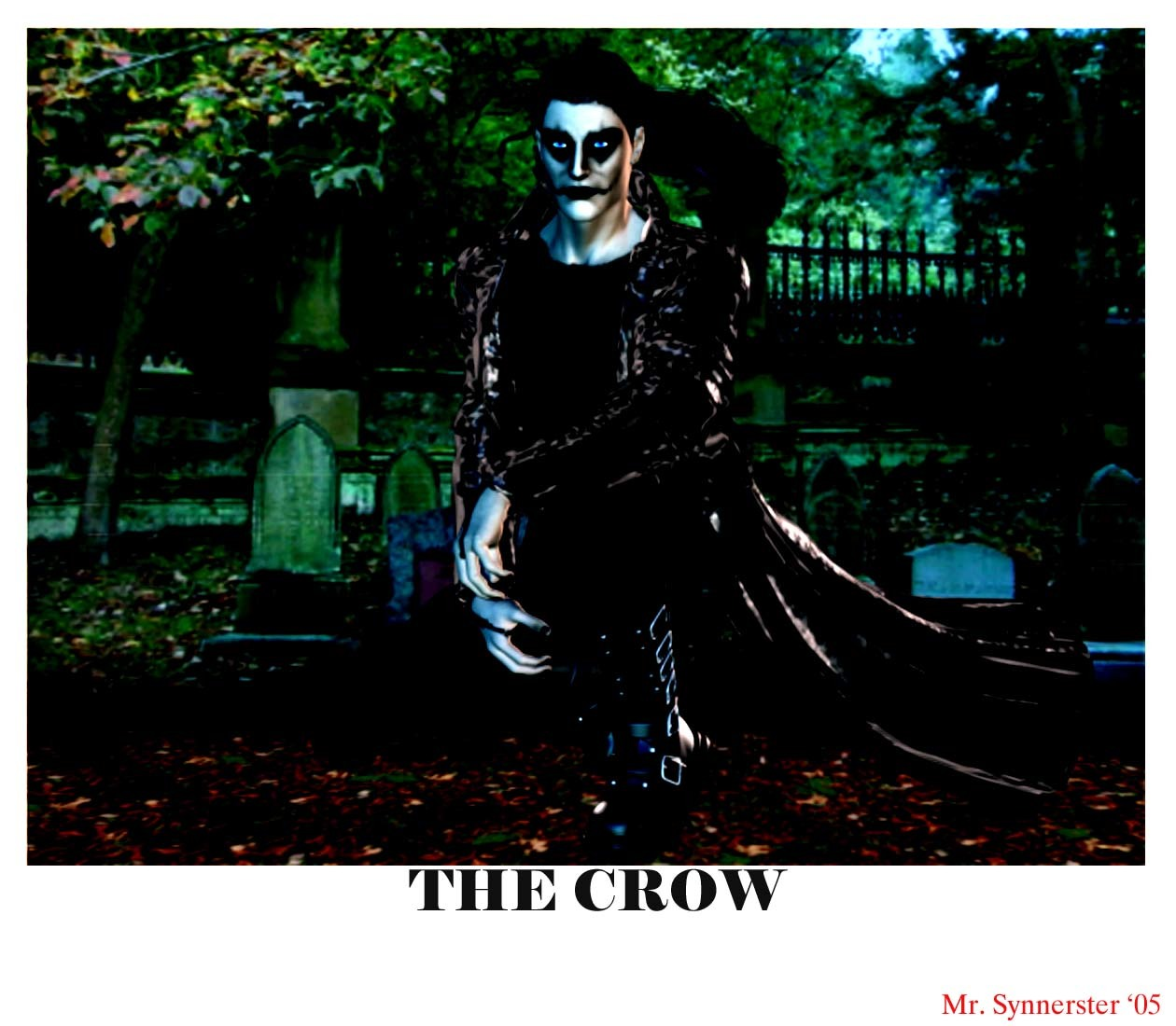 The Crow by MrSynnerster