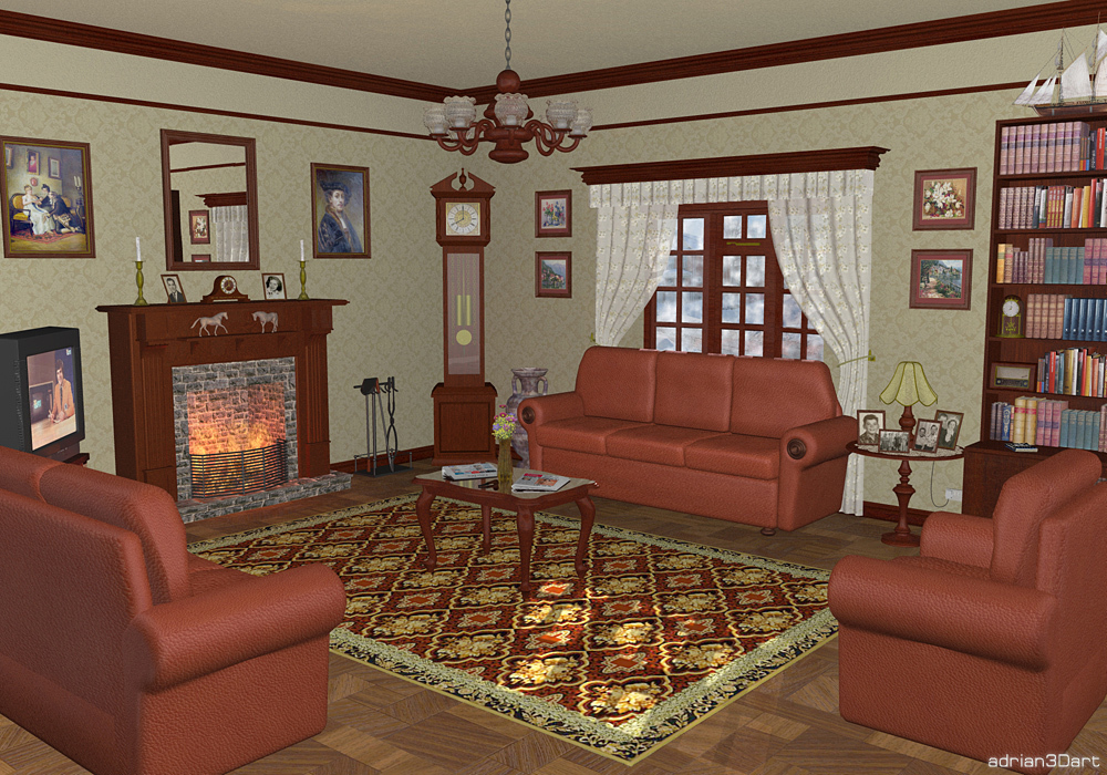 Sitting Room by adrian3Dart